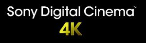 Logo Sony Digital Cinéma 4K